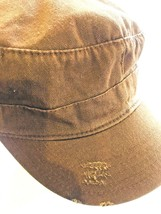 DORFMAN PACIFIC Unisex Brown Weathered VTG Style Military Cadet Hat Cap ... - $15.41