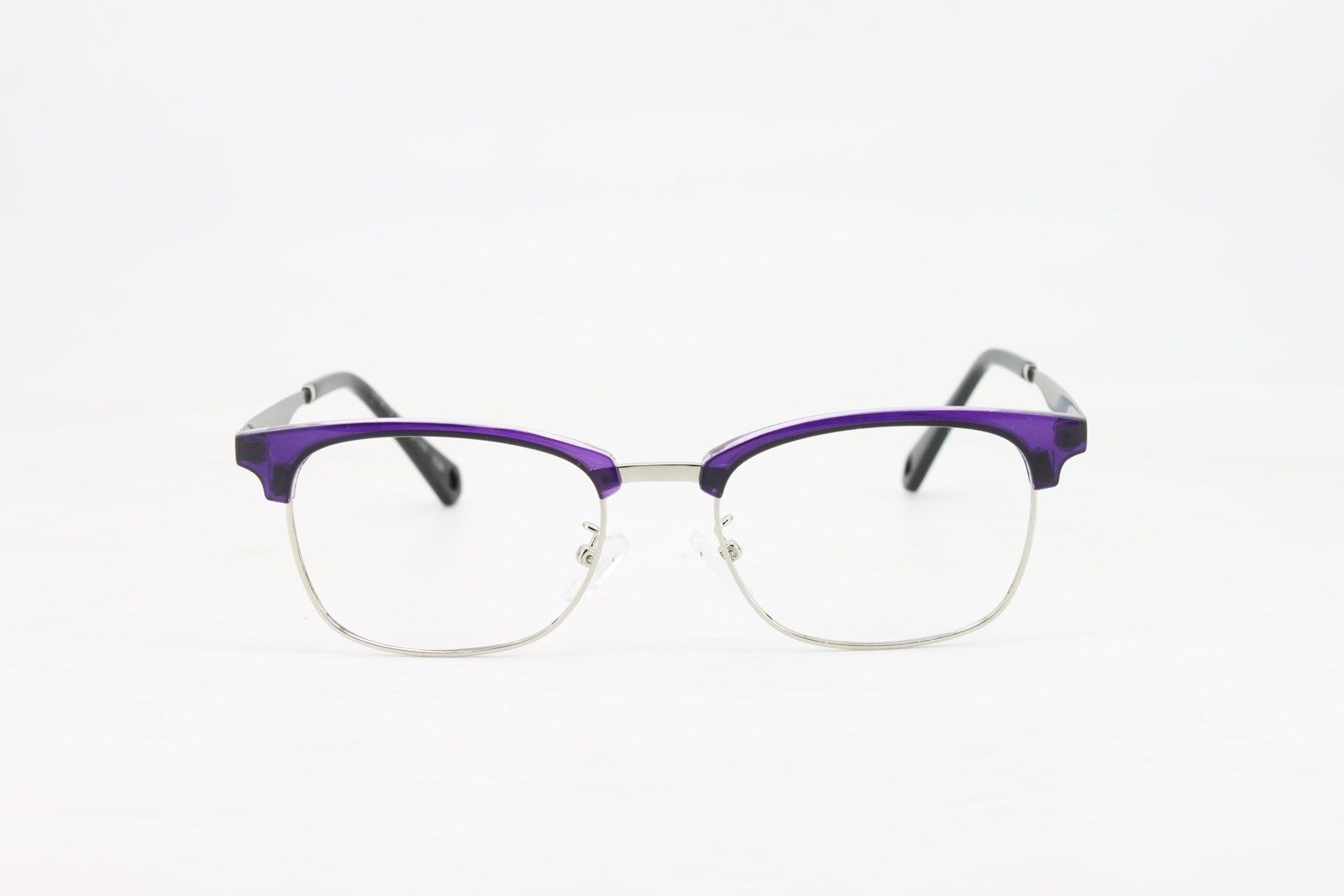 4aa35cde6d99 ... Ebe Bifocal Reading Glasses Mens Womens Violet Horn Rimmed Trendy  Quality