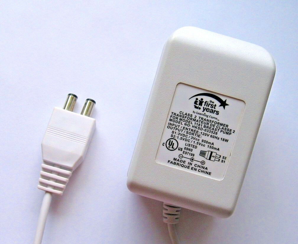 Primary image for First Years HKSD-033528 AC Adapter Power Supply, Genuine Part for Breast Pumps