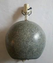 Mid Century Modern Atomic Orb Ceramic Table Lamp Gray - $78.56