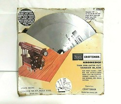 Sears Craftsman Kromedge Veneer Blade - $9.49