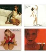 Lot of 4 CDs Jennifer Lopez Kylie Minogue Britney Spears Robyn - No Cases - $2.99