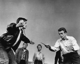 Rebel Without a Cause James Dean classic knife fight scene 16x20 Canvas Giclee - $69.99