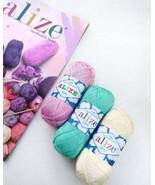 30 balls, Cotton thread, Alize Miss, 100% cotton mercerized, Tatting thr... - $84.25