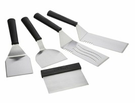 Cuisinart 5-Piece Stainless Steel BBQ Tool Set for Gourmet Outdoor Grilling - £20.87 GBP