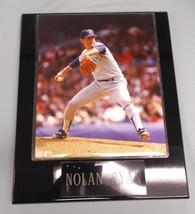 "Nolan Ryan  pitcher Texas baseball photo plaque 10 1/2"" x 13 gloss black... - $23.17"