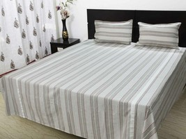 Double bedsheet with 2 pillow cloth 220 x 250 C... - $39.00