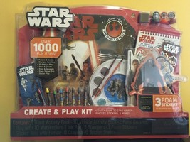 Star Wars The Force Awakens Create and Play Activity Kit 3+ Disney NEW - $19.98