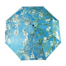 GLODEALS Automatic Umbrella, Creative Oil Painting Automatic Folding Umb... - $17.23