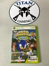 Sega Superstars Tennis/XBOX LIVE ARCADE BUNDLE (Microsoft Xbox 360, 2008) - $9.50