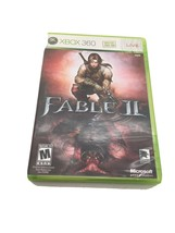 Fable II Fable 2 Microsoft Xbox 360 2008 Super Clean Disc Mature  - $18.99