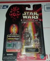 STAR WARS EPISODE 1 GASGANO with PIT DROID ACTION FIGURE (NEW) - $9.85