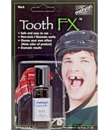 Tooth Black Tooth FX Mehron Paint for Theatrical Use on Teeth USA - $6.92