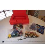 K'Nex set Challenge building pieces red storage case sealed packages tir... - $59.39