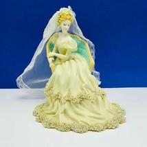 Westland Music box Wedding Special moment Mendelssohns march figurine sc... - $91.74