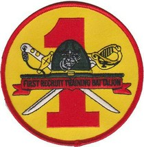 USMC 1st Recruit Training Battalion Patch - $11.87