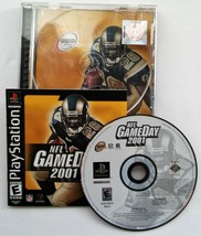 NFL GameDay 2001 (Sony PlayStation 1, 2000) PS1 CIB Black Label - $11.65