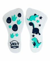 Sticky Feet - Sock and Stockings Feet Grip Stickers - Dino Feet