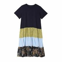 Spring Summer Boho Casual Dress For Women Regular Short Sleeves Round Neck Loose - $43.99