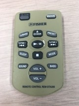 Fisher REM-DTA200 Remote Control Tested And Cleaned                         (G7)