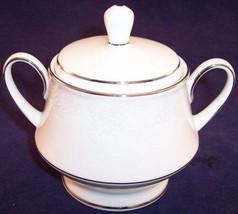 Noritake Contemporary Fine China Covered Sugar Bowl, Misty 2883 - $22.99