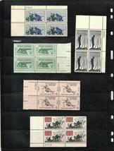 US Civil War 1961-1965 USPS  Complete Set Plate Blocks Scott # 1178-1182... - $4.95