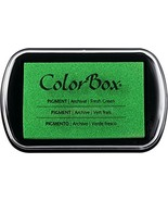 ColorBox Classic Pigment Ink Pad, Full Size, Fresh Green - $6.42