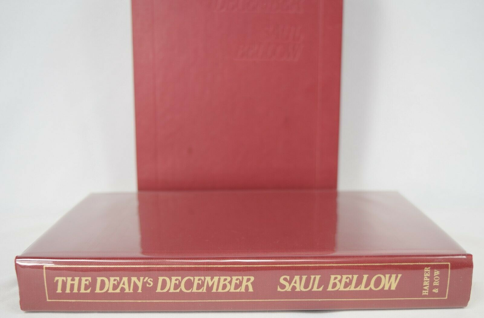 Primary image for The Dean's December (Limited Numbered Edition by Saul Bellow SIGNED, 1982) HB VG