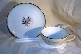 Noritake Rosales Cup And Saucer Set  5790 - $4.49