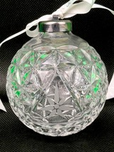 Waterford Crystal 2000 TIMES SQUARE Clear Christmas Ball Ornament Collec... - $33.66