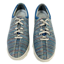 Dansko Women's Brandi Woven Textured Lace Up Shoes Sneakers Size US 8.5 EU 39 - $33.22