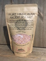 Pure Himalayan Pink Salt Gourmet Grade Table Salt 16oz Bag Medium Coarse Grinder - $11.87