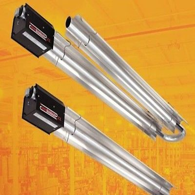 Radiant Tube Heater 20 Ft 80 000 Btu Natural Gas