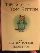 Beatrix Potter THE TALE OF TOM KITTEN hardcover In Dust Jacket. - $34.30