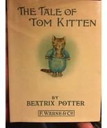 Beatrix Potter THE TALE OF TOM KITTEN hardcover In Dust Jacket. - $34.30