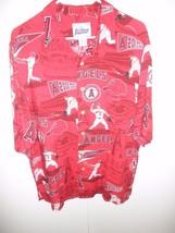 Reyn Spooner Anaheim Angels Hawaiian Shirt Baseball 2002 World Series ra... - $98.01