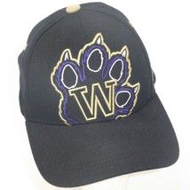 Zephyr Ncaa Washington Huskies Uw Baseball Hat Cap Paw Print MED/LARGE - $19.75