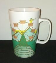 Ferris Wheel Starbucks Mug / Dot Collection / Tall 16 Oz 2015 Coffee Tea... - $24.24