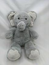 "Build A Bear Gray Elephant Plush 17"" 2019 Stuffed Animal Toy - $12.95"