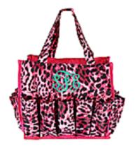 Pink Leopard Print Organizer Tote-NEW - $14.99