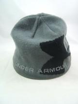 Under Armour Winter Hat Gray Toque Beanie Stocking Cap - $14.84