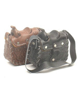 """Hand Tooled Leather MicroMini Western Saddle Purse, VERY Detailed!  3"""" x... - $19.80"""