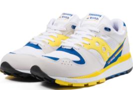 Saucony Azura Size US 9 M (D) EU 42.5 Men's Running Shoes White/Yellow S... - £50.71 GBP