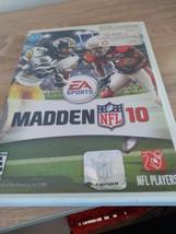 Nintendo Wii Madden NFL 10 image 1