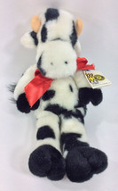 "Manhattan Toy Cow Closed Eyes 15"" Plush Sleeping Doll 1990 Stuffed Anima... - $96.66"