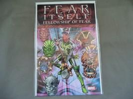 Marvel Comic book ,2011 Fear Itself Fellowship of fear # 1 ,In plastic bag, Mint - $5.99