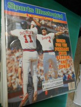 SPORTS ILLUSTRATED Oct.20,1986   GOING FOR THE PENNANT..........FREE POS... - $8.50