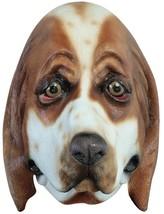 Basset Hound Dog Mask Adult Animal Realistic Latex Halloween TB26621 - $44.99