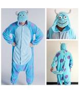 Adult Monsters University Mike Wazowski&sulley Costume Pajamas Cosplay - £14.52 GBP