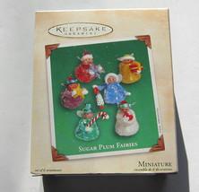 Sugar Plum Fairies Handcrafted Miniature Ornament Hallmark Keepsake 2002 - $13.97
